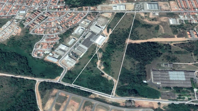 Terreno Distrito Industrial - Votorantim